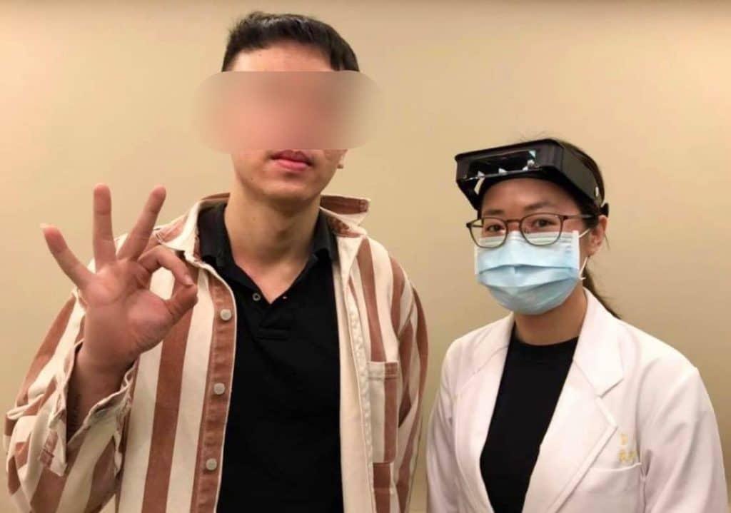 實際案例評價 – 男生 23歲 – 台北松山區